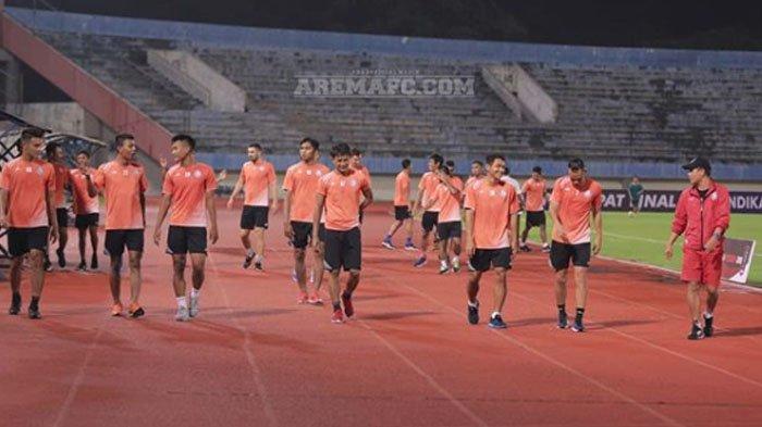 Enam Pemain Arema FC Absen Berlatih