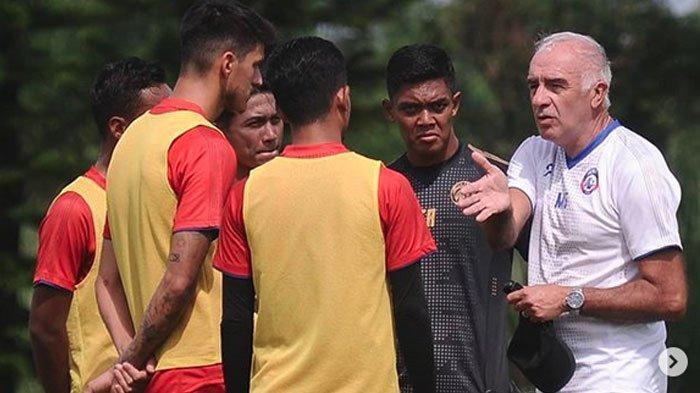 Arema FC Tunda Gelar Latihan Perdana Gara-gara Virus Corona, Pemain Dapat Jatah Libur Lebih Lama