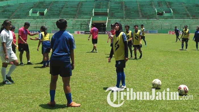 Arema FC Putri Gagal Wujudkan Misi Sapu Bersih Seri Keempat Liga 1 Putri 2019 di Kandang