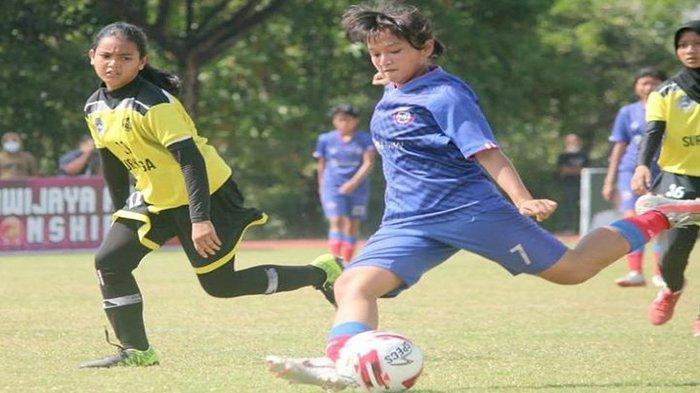 Bungkam Moodbooster FC 6-0, Arema FC Women Lolos Fase Grup Women Open Sriwijaya FC Championship 2021