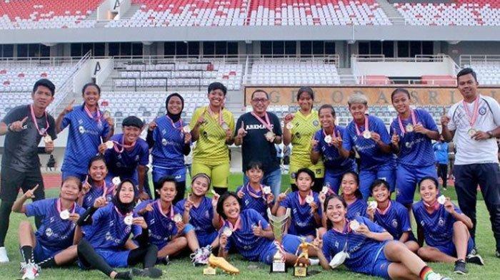Kalah Selisih Gol, Arema  FC Women Gagal Juarai Arema FC Anniversary Women Solidarity