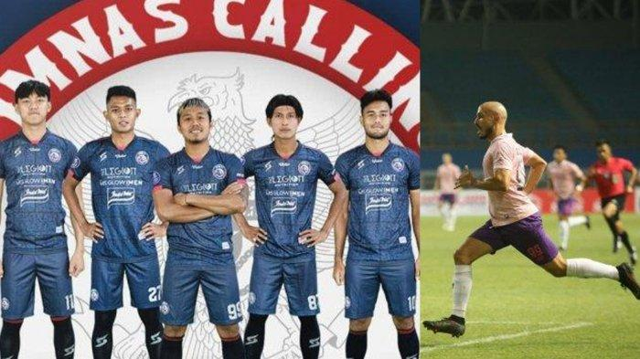 TERPOPULER BOLA: 5 Pemain Arema FC Dipanggil Timnas Indonesia hingga Youssef Ezzejjari Cetak Brace