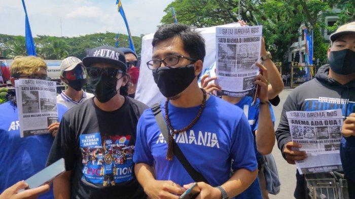 Harapkan Dualisme Arema Segera Berakhir, Aremania Dorong Wali Kota Malang Jadi Mediator