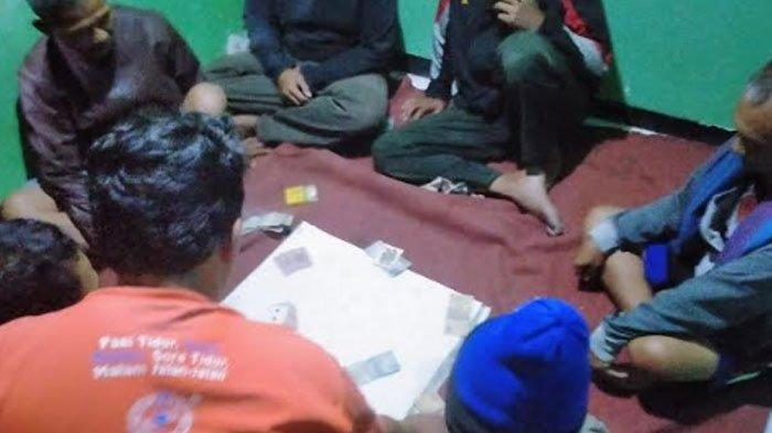 Sulap Pos Kamling Jadi Arena Judi Remi, 6 WargaKelurahan Rejomulyo Dikeler keMapolsek Kota Kediri