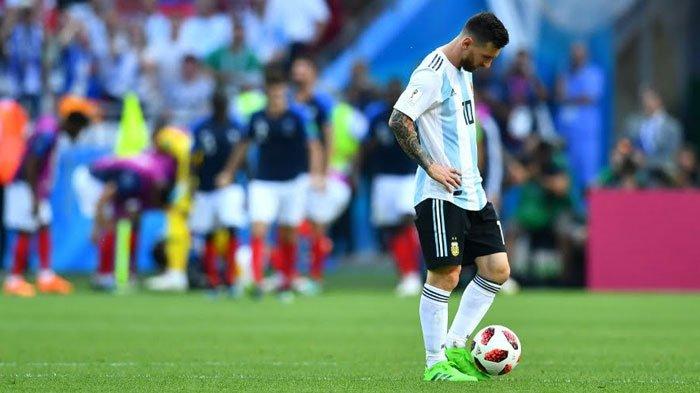 Tak Mampu Loloskan Argentina, Lionel Messi Ternyata Cetak Rekor Menarik di 4 Piala Dunia Berbeda