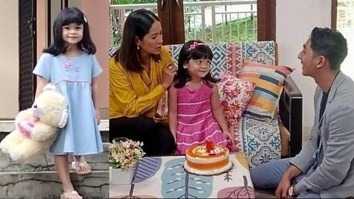 Ariqa Farikha Shakila, pemeran Reyna di sinetron Ikatan Cinta RCTI.