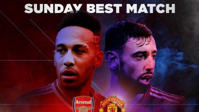 Arsenal vs Manchester United, MU Dibayangi Rekor Buruk Saat Jumpa The Gunners.