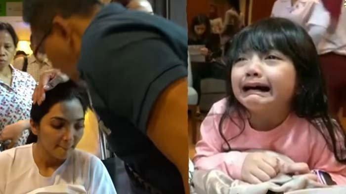 Arsy menangis melihat Ashanty