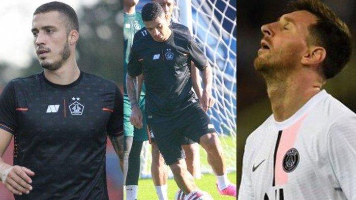 TERPOPULER BOLA: Arthur Felix dan Tinga Berangkat ke Solo - Lionel Messi Perdayai 7 Pemain Uruguay