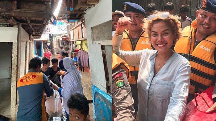 5 Artis Bantu Korban Banjir di Jakarta, Nikita Mirzani Sumbang Uang hingga Ruben Beri Ayam Geprek