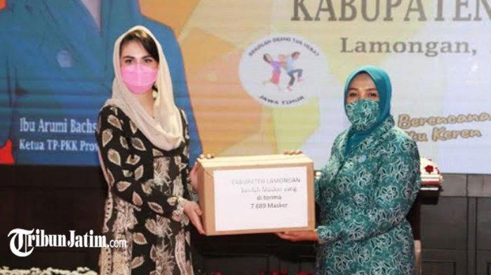 Lamongan Jadi Pilot Project Sekolah Orang Tua Hebat, Begini Harapan Ketua PKK Jatim Arumi Bachsin