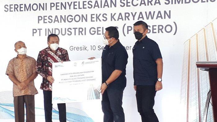 PT PPA Selesaikan Pembayaran Hak Eks Karyawan PT Iglas yang Terdampak PHK Pada Tahun 2015