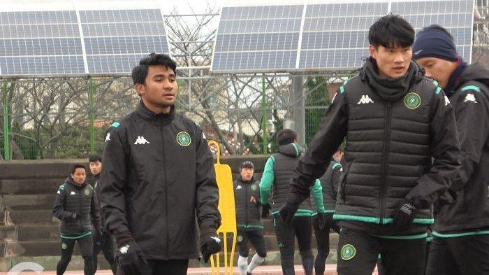 Asnawi Mangkualam Jalani Latihan Perdana Bersama Ansan Greeners, Pelatih Berikan Evaluasi Awal
