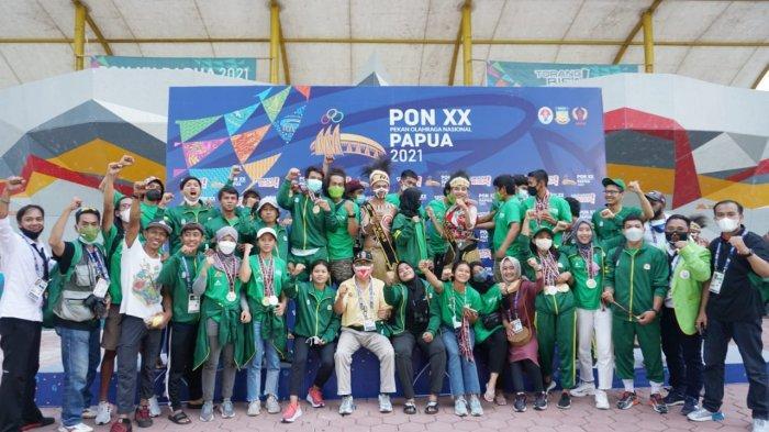 Sabet 6 Medali Emas, Tim Panjat Tebing Jatim Juara Umum PON XX Papua 2021