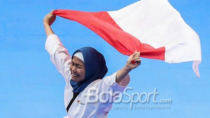 Mengenal Sosok Defia Rosmaniar, Atlet Taekwondo yang Raih Emas Pertama Indonesia di Asian Games 2018
