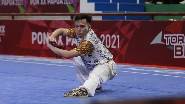 PON XX Papua 2021 - Tim Wushu Jatim Lampaui Target, Dipatok Lima Raih Enam Medali Emas