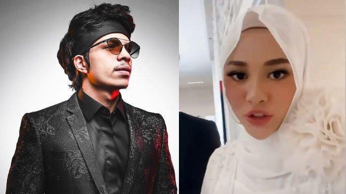 Kolase foto Atta Halilintar dan Aurel Hermansyah yang beberapa bulan menjadi suami istri.