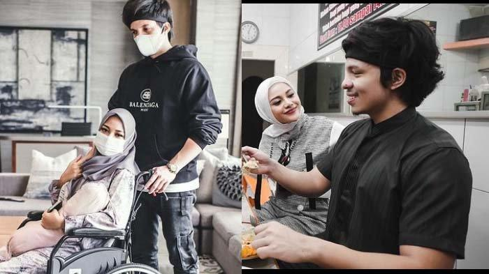Pengorbanan Aurel Demi Atta Meski Pakai Kursi Roda, 'Moga Ayang Happy', Suami: Langsung Pengen Bobo
