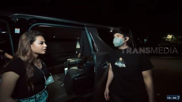 Aurel Hermansyah turun dari mobil gara-gara berantem dengan Atta Halilintar