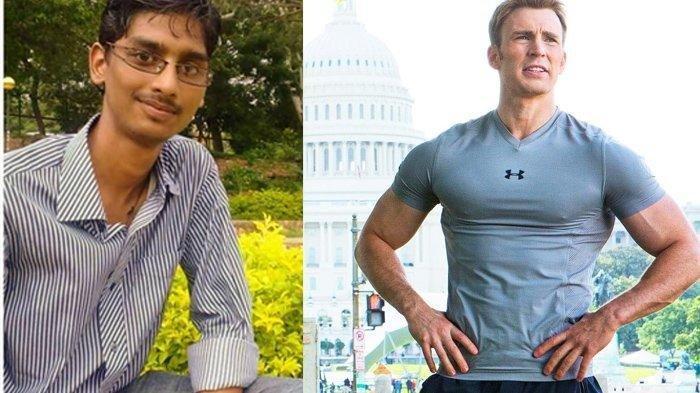 Awalnya Kurus, Pria Ini Lakukan Transformasi Demi Mirip Captain America, Kini Sukses Jadi Model!