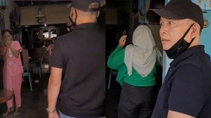 Ayah Rozak dan Umi Kalsum nyelonong masuk rumah orang tua haters Ayu Ting Ting