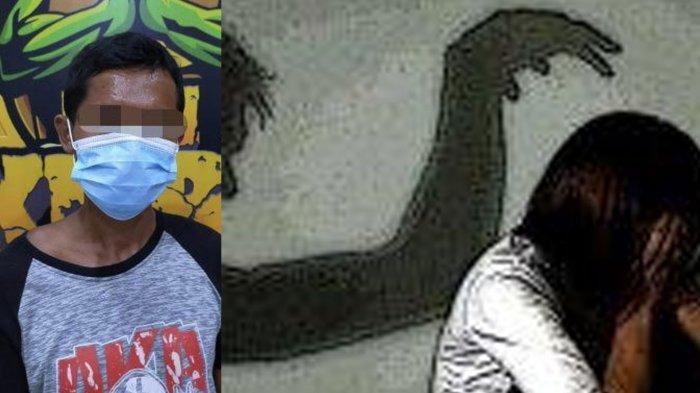 Bapak di Lumajang 3 Kali Rudapaksa Anak Tirinya, Bungkam Korban Cerita ke Ibu dengan Ancaman Dibunuh