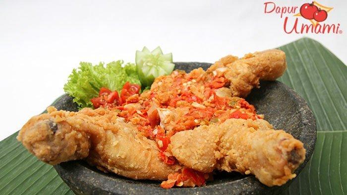 Resep Ayam Geprek untuk Menu Buka Puasa, Anak-anak & Orang Dewasa Pasti Suka, Praktis Juga Bikinnya!