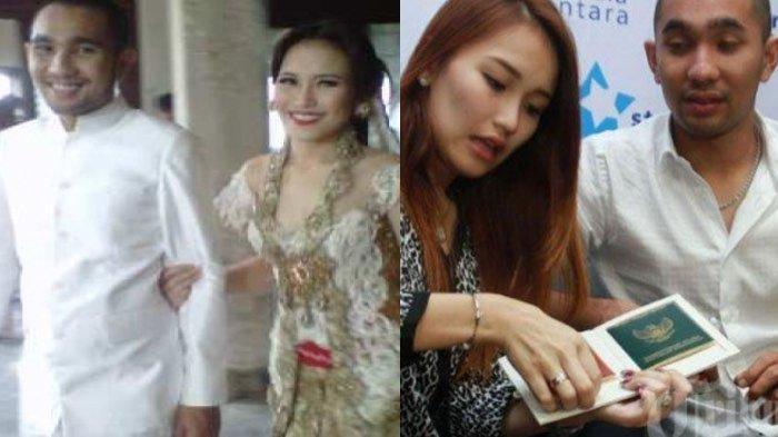 Ayu Ting Ting dan Enji Baskoro saat menikah tapi cuma 20 hari