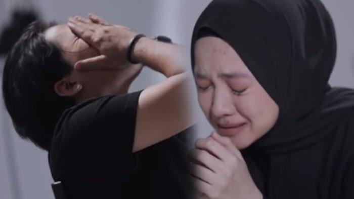 Ayus dan Nissa Sabyan di video klip 'Sapu Jagat'.