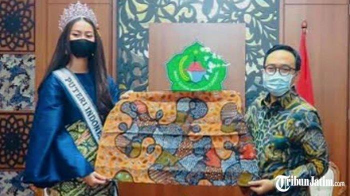 Ikuti Ajang Miss Universe 2021 di Amerika, RR Ayu Maulida Putri akan Pakai Batik Toket Pamekasan