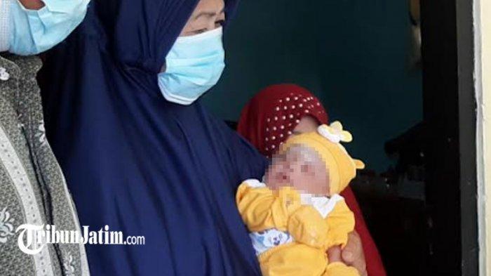 Bayi di Gresik Ditinggal Orang Tuanya Berpulang Terpapar Covid-19, Demam Tidak Menangis Seharian