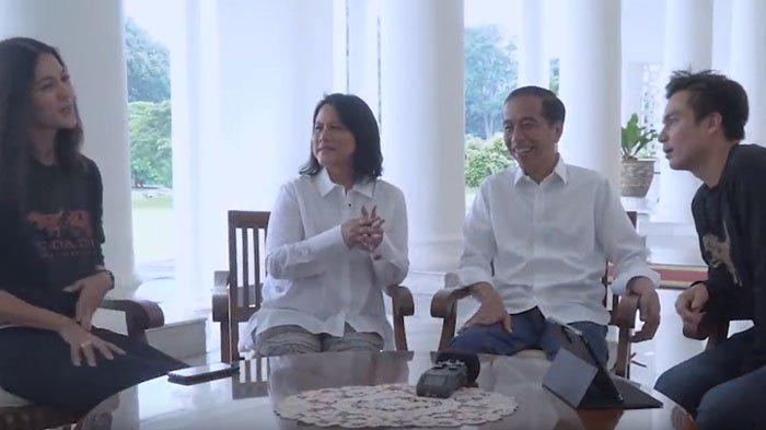 Baim Wong dan Paula Berantem di Depan Jokowi, Iriana Langsung Beri Petuah: Kalau Ngambek Itu Capek