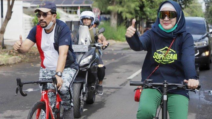 Gowes Pagi, Machfud Arifin Ajak Masyarakat Tetap Jaga Imun Lawan Pandemi Covid-19
