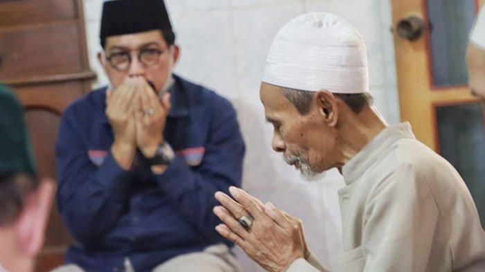 Sowan ke Pasuruan, Machfud Arifin Disambut Hangat Kiai Pondok Pesantren Sidogiri