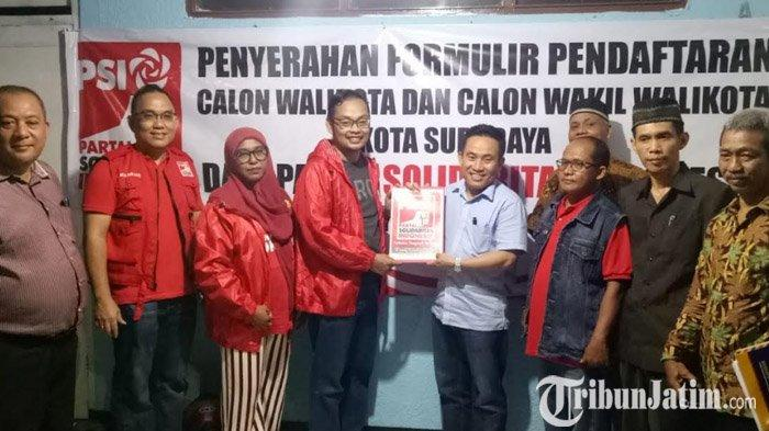 Usung Tagline 'Salam Satu Periode', Haryanto Ikuti Penjaringan di NasDem dan PSI: Saya Gak Ambisi