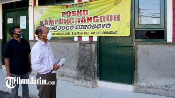 Sejumlah Balai RW di Surabaya Jadi Rumah Sehat, Lindungi Warga Sekitar yang Terpapar Covid-19