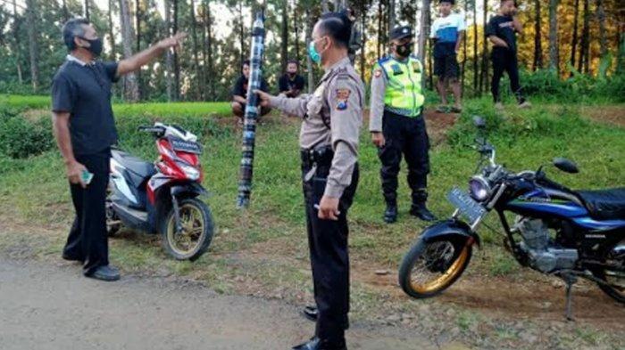 Ngabuburit Balap Liar di Gunung Kotak Meresahkan Masyarakat, Polsek Ngrayun Ponorogo Gelar Razia