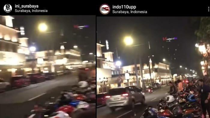 Aksi Kebut-kebutan Motor Gede di Jalan Tunjungan Viral di Instagram, Polisi Pastikan Video Lama