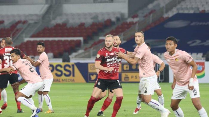 Hasil Pertandingan Perdana Liga 1 Bali United vs Persik Kediri Berakhir 1-0