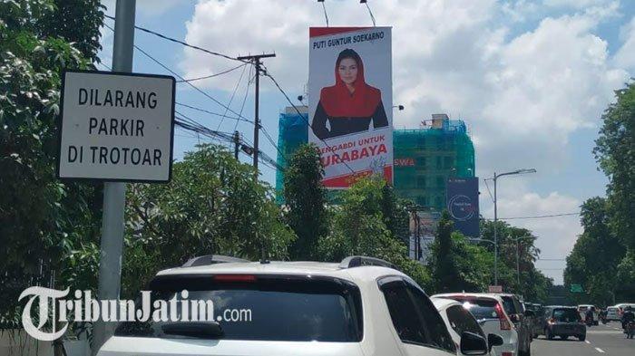 Baliho Puti Guntur Soekarno Terpampang di Surabaya, Begini Penjelasan PDIP
