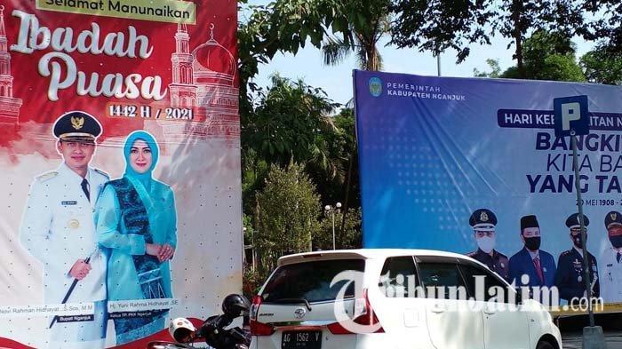 Soal Desakan Pencopotan Gambar Novi Rahman Hidhayat, Humas Protokol Pemkab Nganjuk Tunggu Instruksi