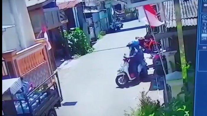 Komplotan Bandit Gondol Motor Suang Bolong, Aksinya Terekam CCTV Kurang Dari 10 Detik