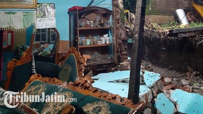 Satu Rumah dan Talud Ambrol Akibat Hujan Deras di Kota Blitar, DPUPR Cek Semua Lokasi Terdampak