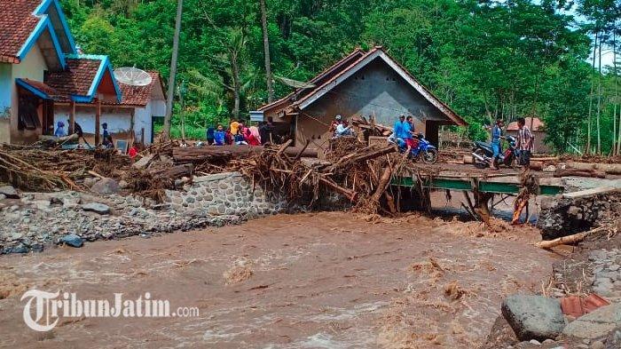 Diterjang Banjir Bandang, Warga Empat Desa di Probolinggo Berharap Bantuan