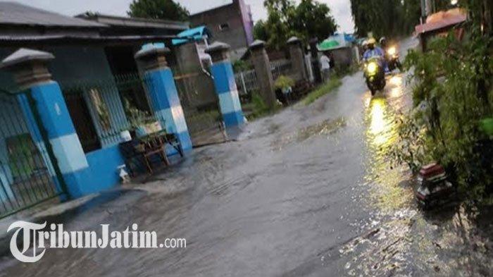 Dampak Hujan Deras di Kota Blitar: 2 Kelurahan Terendam Banjir, 2 Kelurahan Alami Longsor