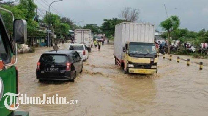Sering Banjir di Jalan Pantura Tuban hingga Sebabkan Kemacetan, Begini Penjelasan Dinas PUPR