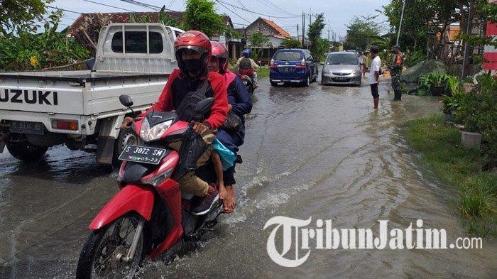 Banjir Akibat Luapan Sungai Bengawan Jero Makin Meluas, 19 Desa di 5 Kecamatan di Lamongan Terendam