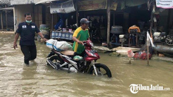 Banjir di Lamongan Meluas Lagi hingga 6 Kecamatan, Data BPDB: 4.156 Unit Rumah Warga Terendam