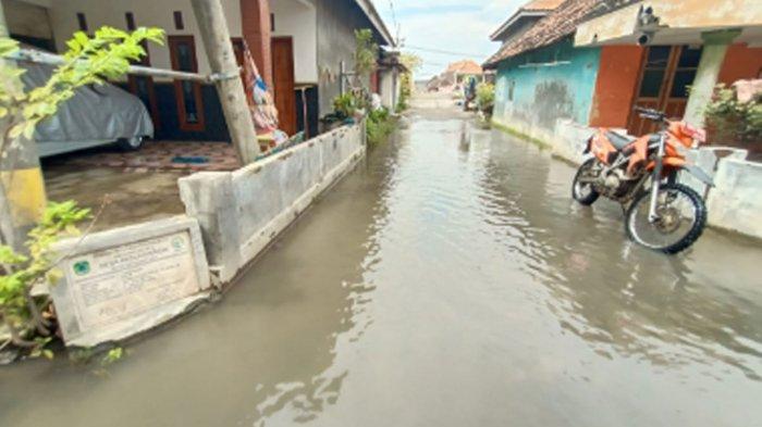 Kondisi banjir di Pasuruan, Jawa Timur, Sabtu (3/4/2021).