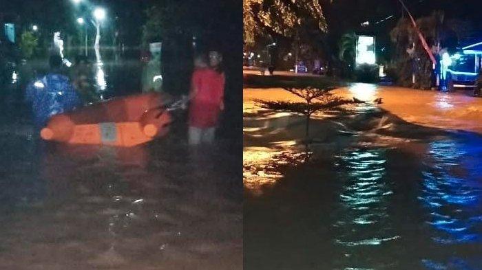 Trenggalek Diterjang Banjir Setinggi Hingga 2 Meter, Tim SAR Terjun Evakuasi Warga